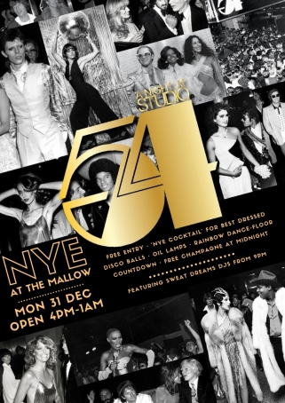 NEW YEARS EVE- STUDIO 54 X MALLOW