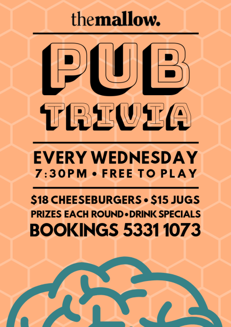 Trivia Wednesdays- The Mallow Hotel